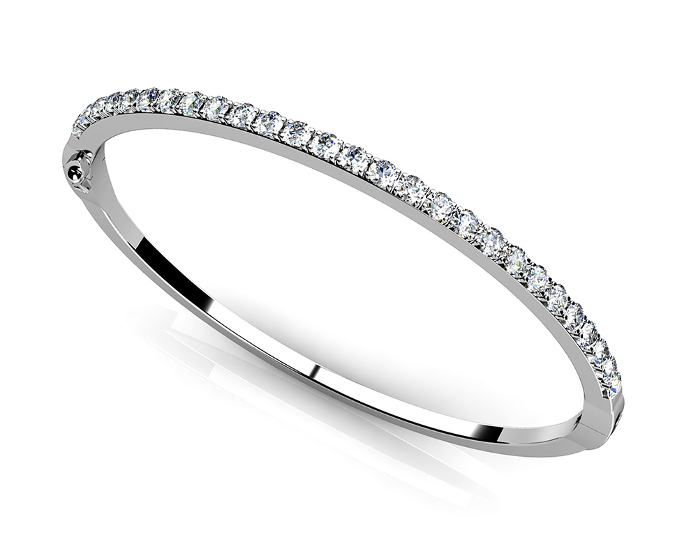 Image of Classic Diamond Bangle