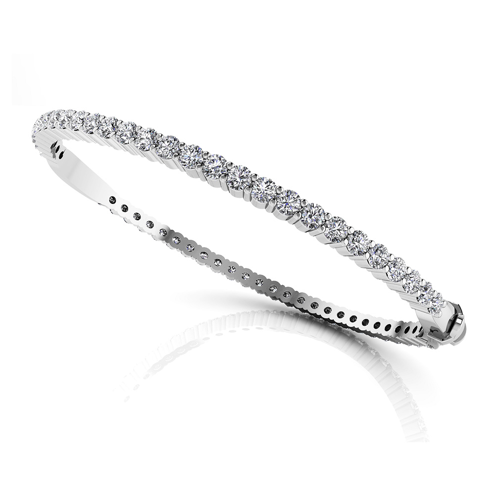 Image of Endless Elegance Diamond Bangle