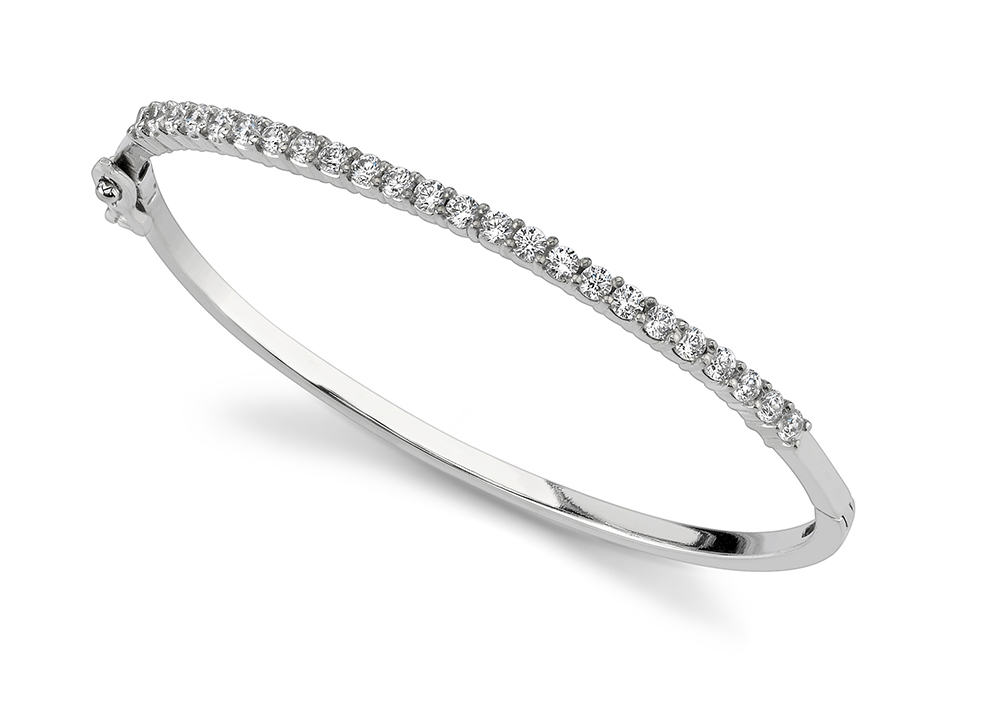 Image of Diamond Top Bangle