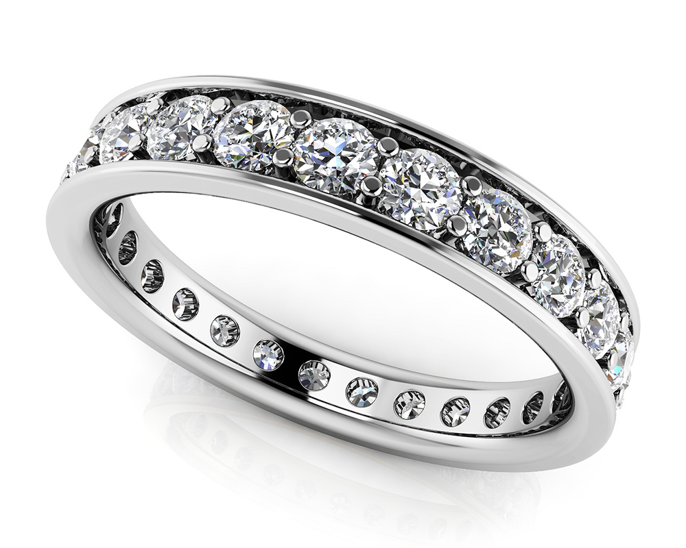 Image of Classic Single Row Eternity Ring