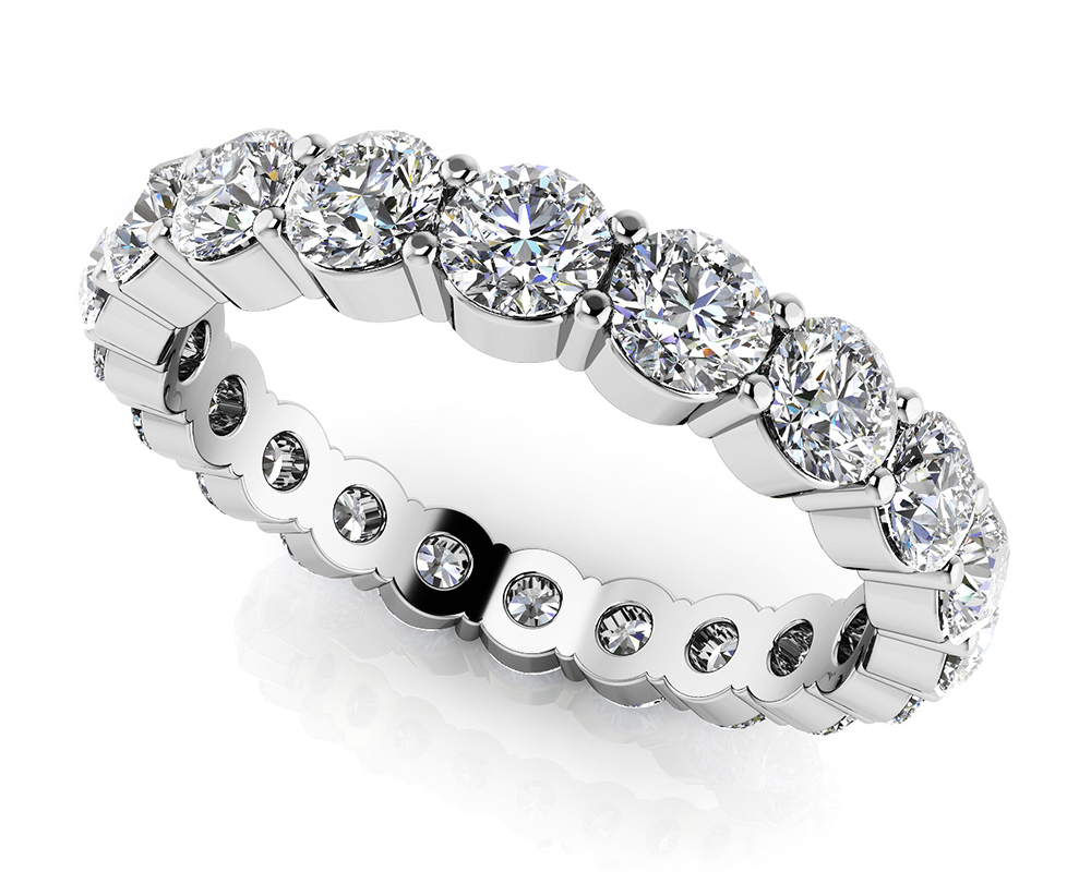 Image of Eternally Yours Diamond Eternity Band