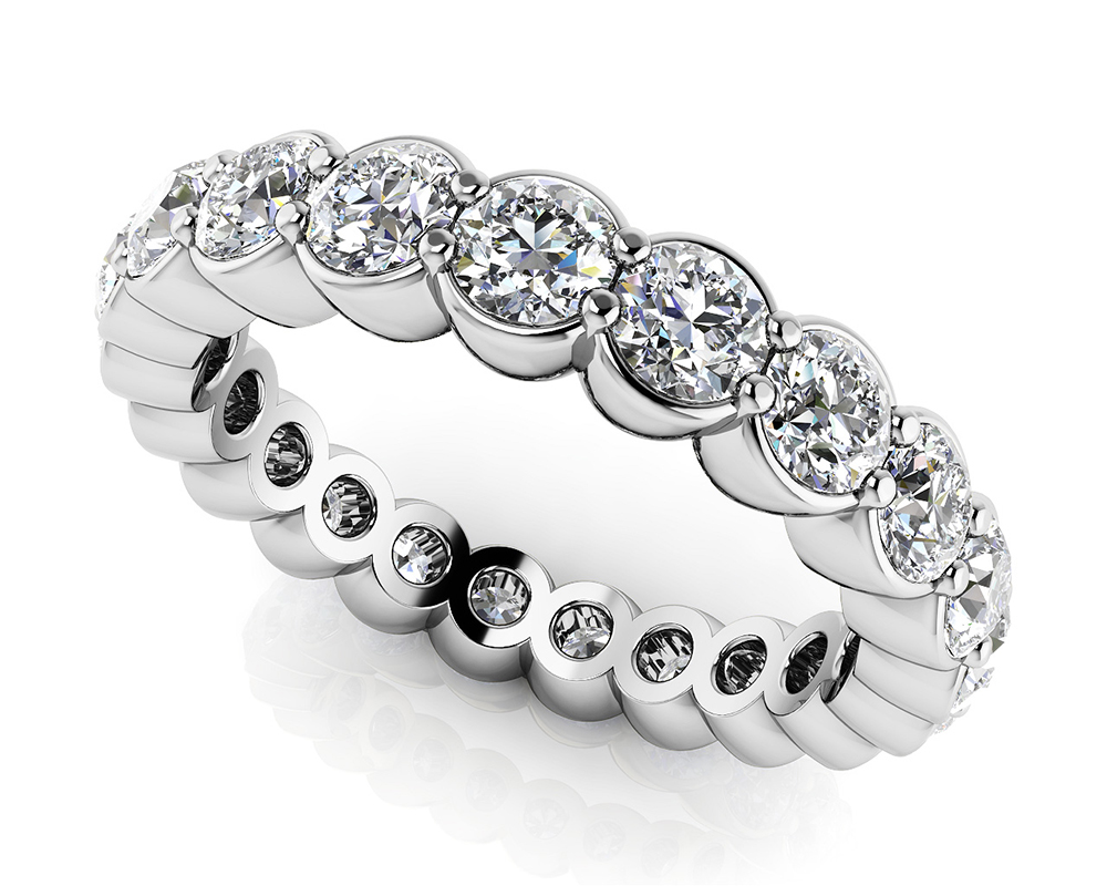 Image of Diamond Dreams Eternity Band