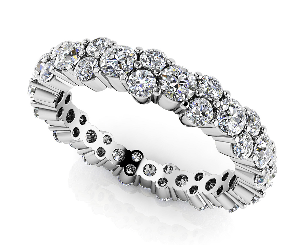 Image of Delightful Diamond Eternity Ring