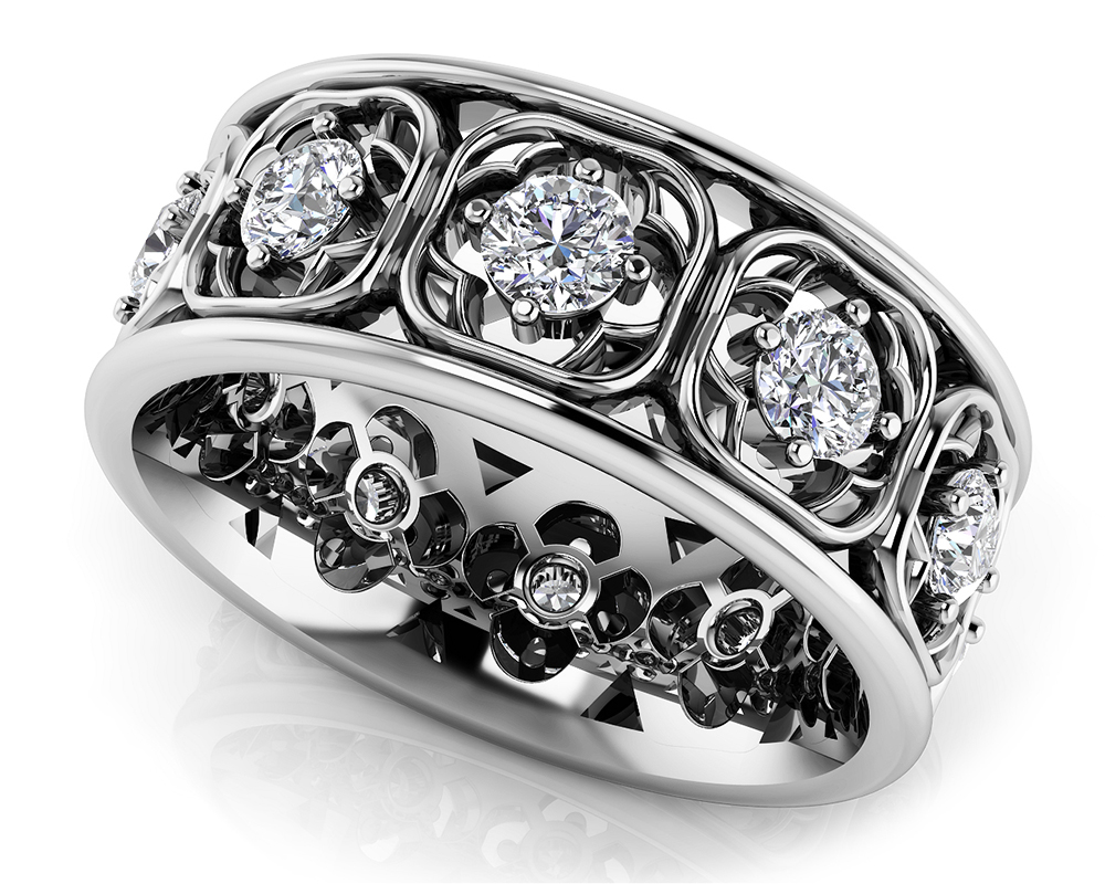 Image of Center of My Heart Eternity Ring