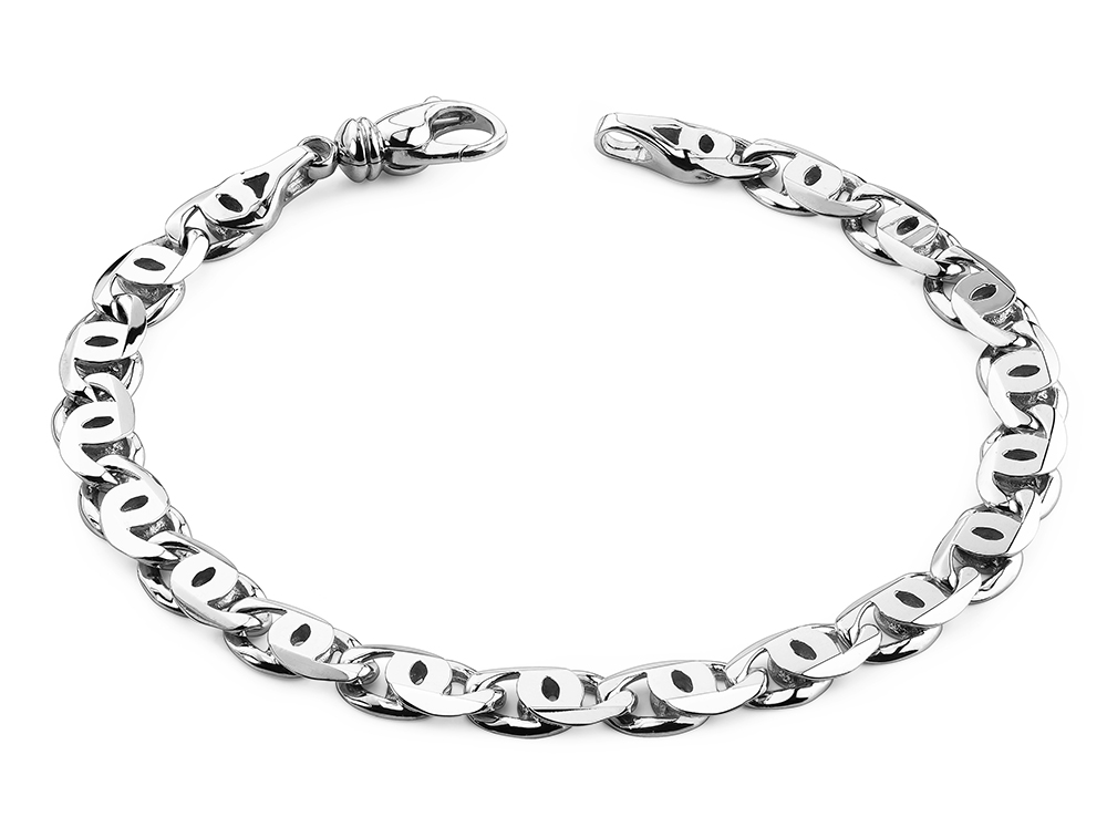 Image of Double Buckle Link Bracelet