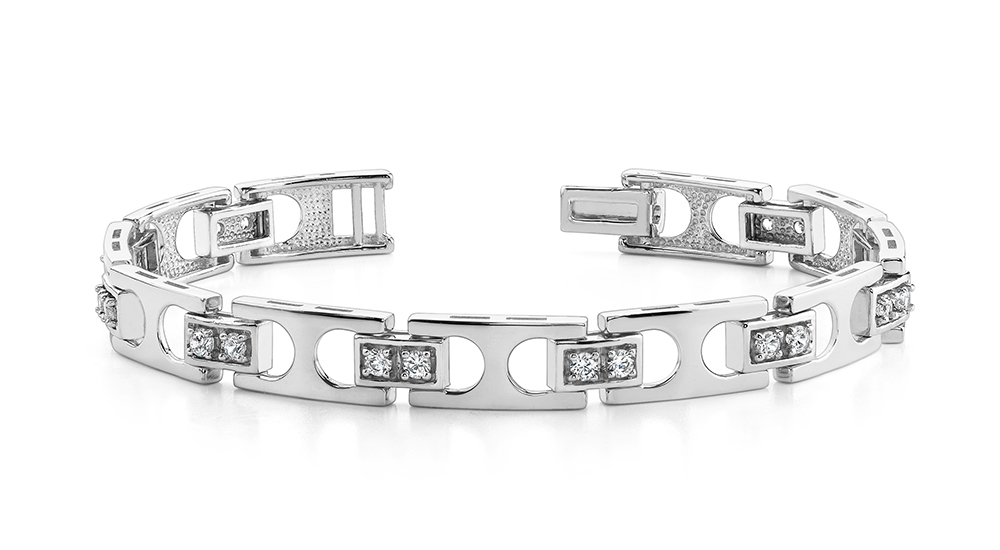 Image of Buckle Link Bracelet