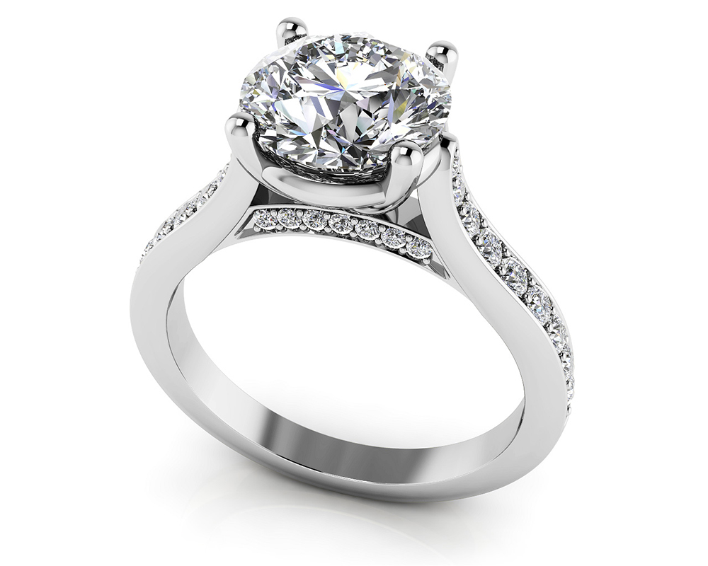 Timeless Love Diamond Engagement Ring