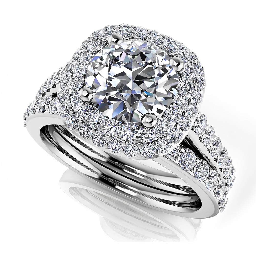 Image of Brilliant Sparkle Wedding Set