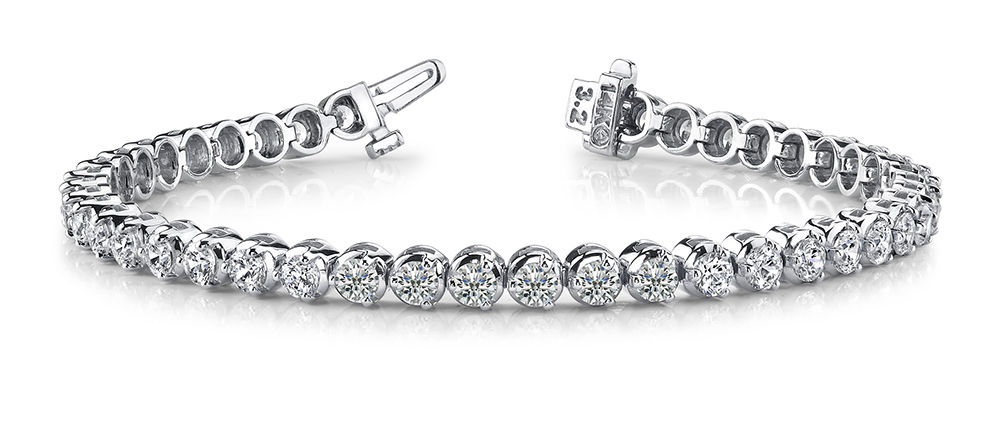 Image of 3 Prong Dreams Tennis Bracelet