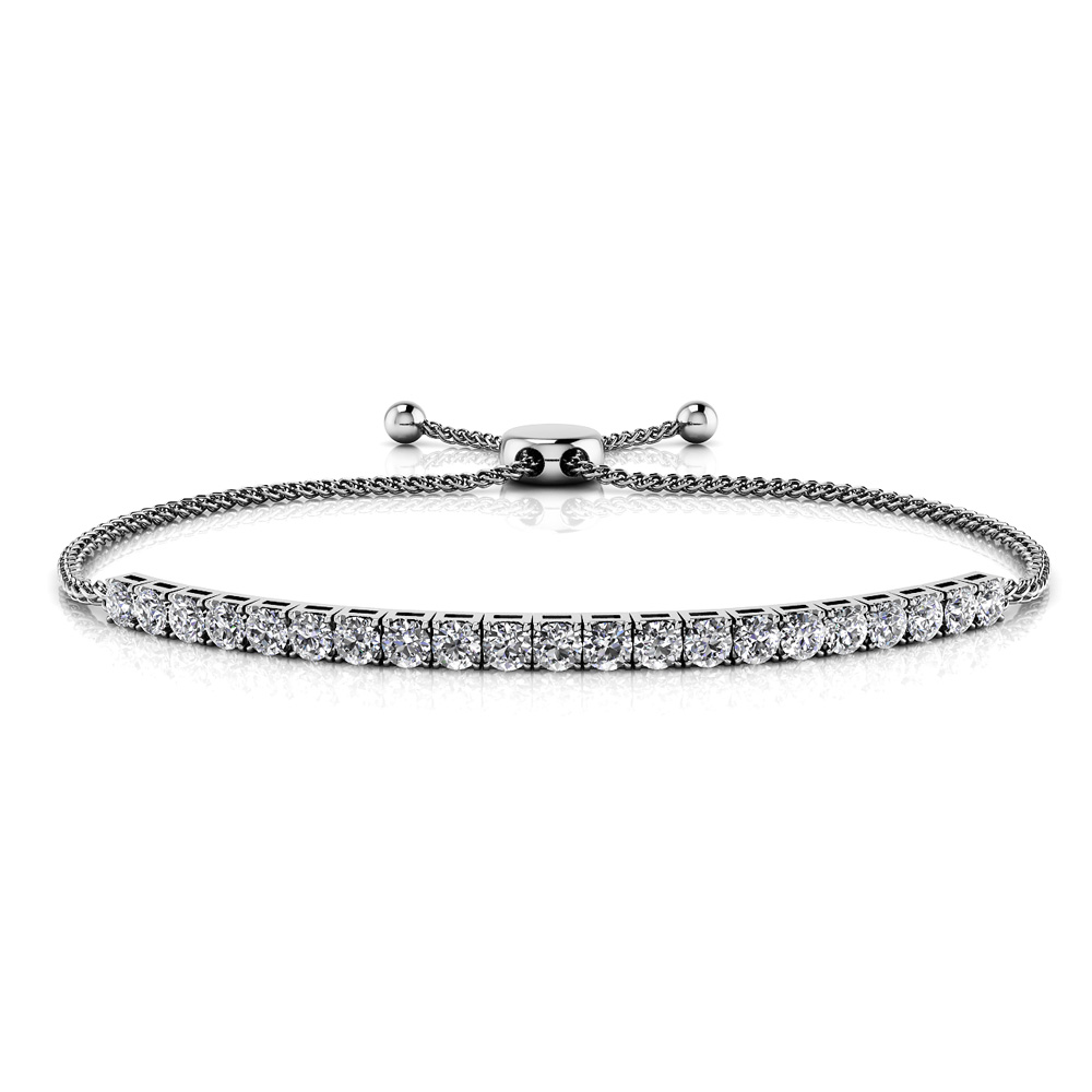 Image of Adjustable Diamond Dreams Bracelet