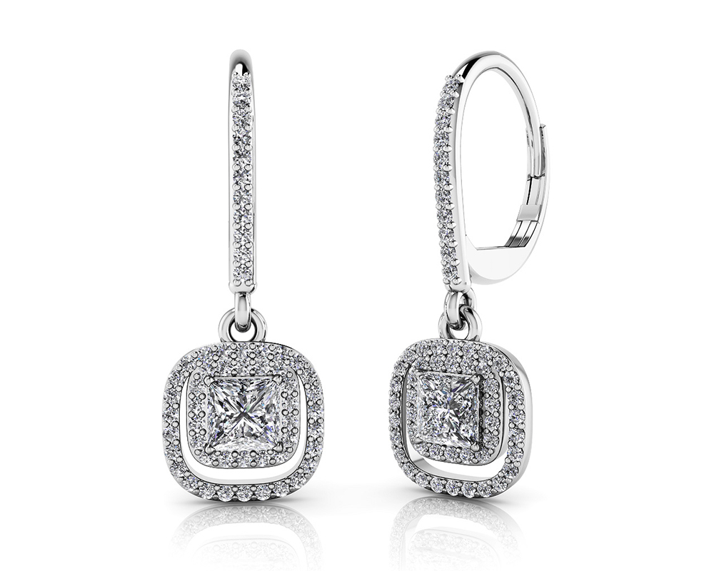 Image of Day to Night Diamond Drop Earrings
