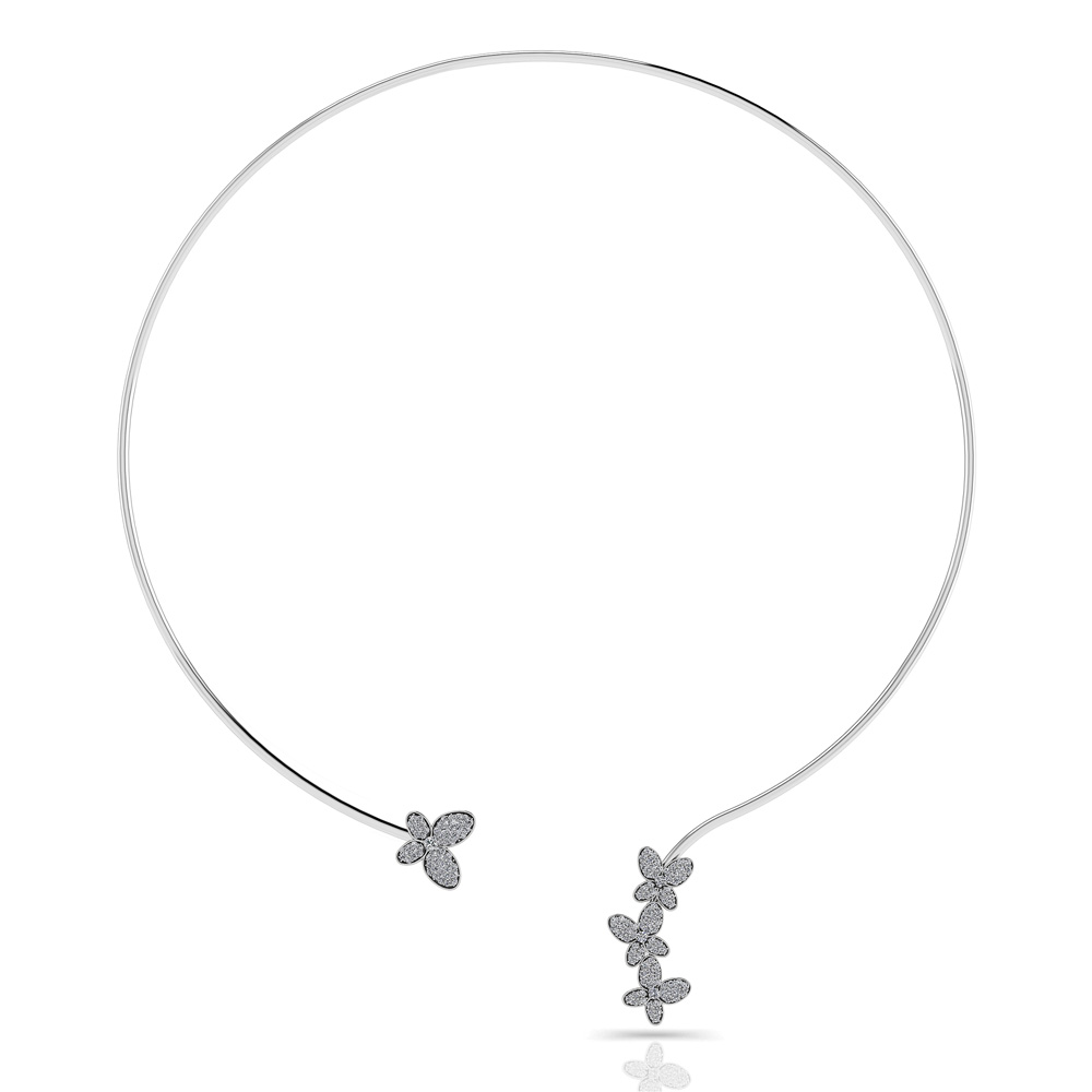 Image of Diamond Butterfly Choker