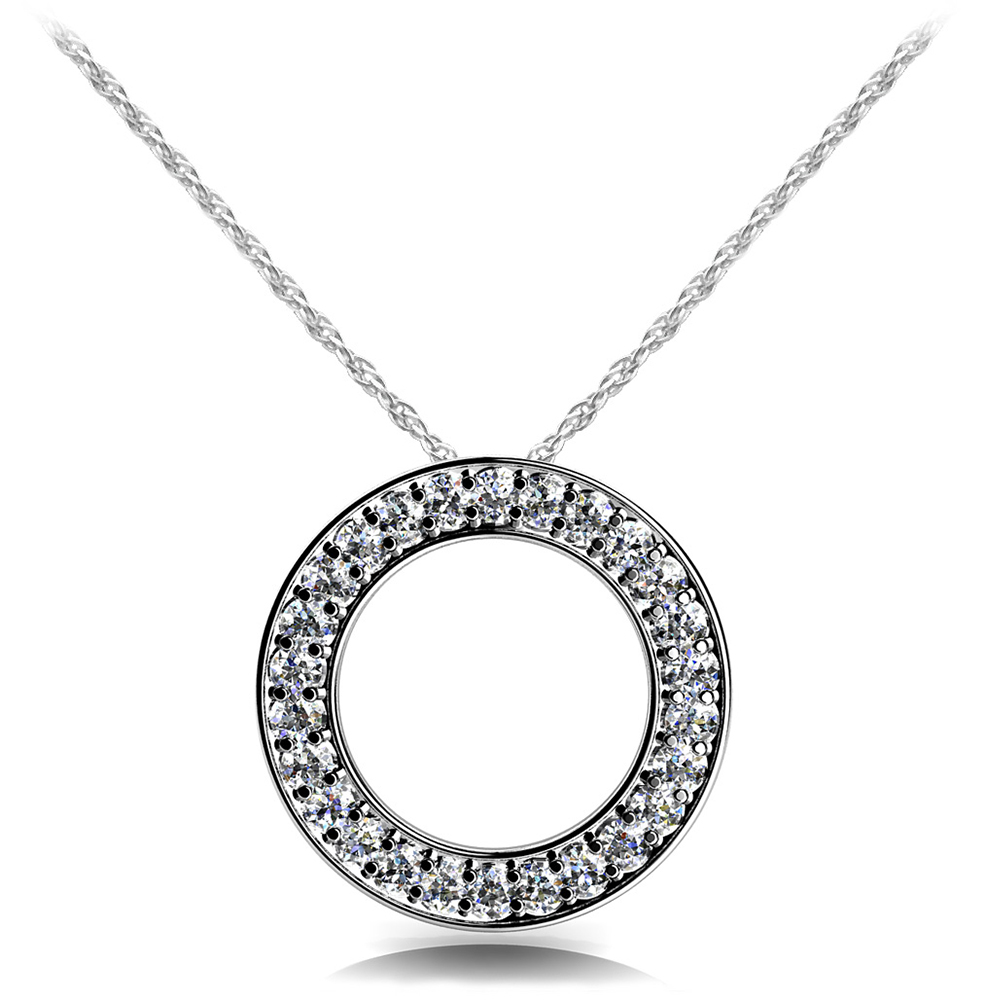 Image of Diamond Circle Pendant