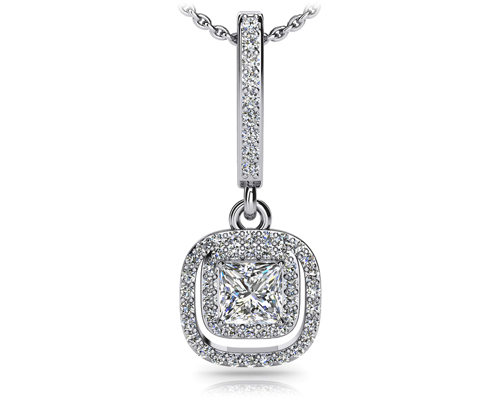 Image of Day to Night Diamond Drop Pendant