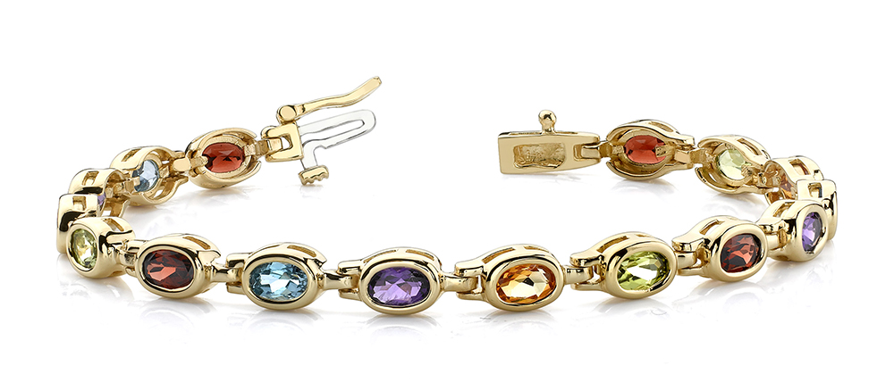 Image of Classic Colored Stone bracelet