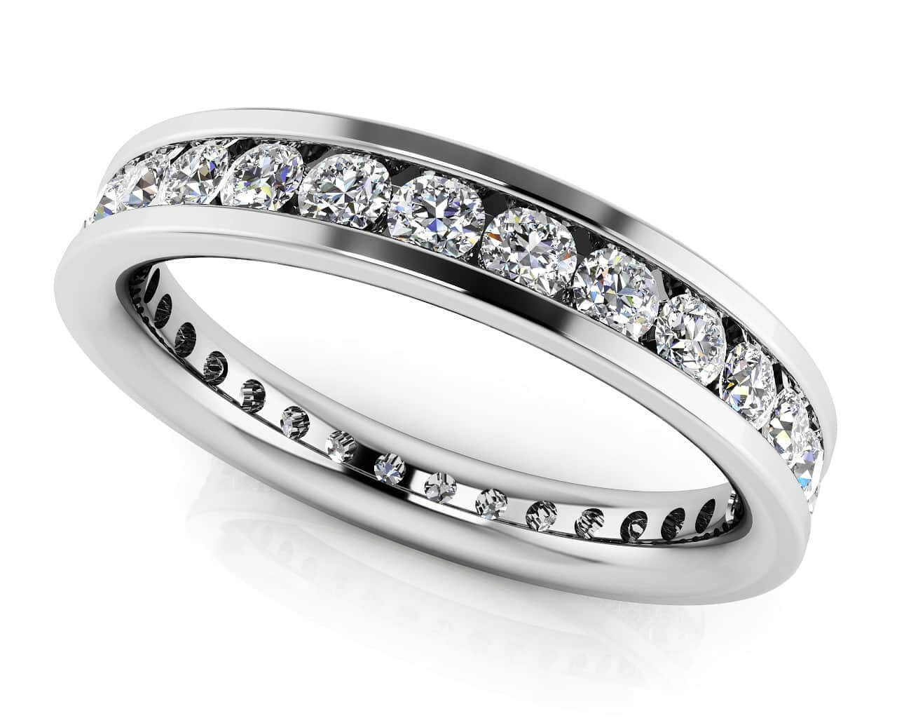 Devoted Channel Set Eternity Band