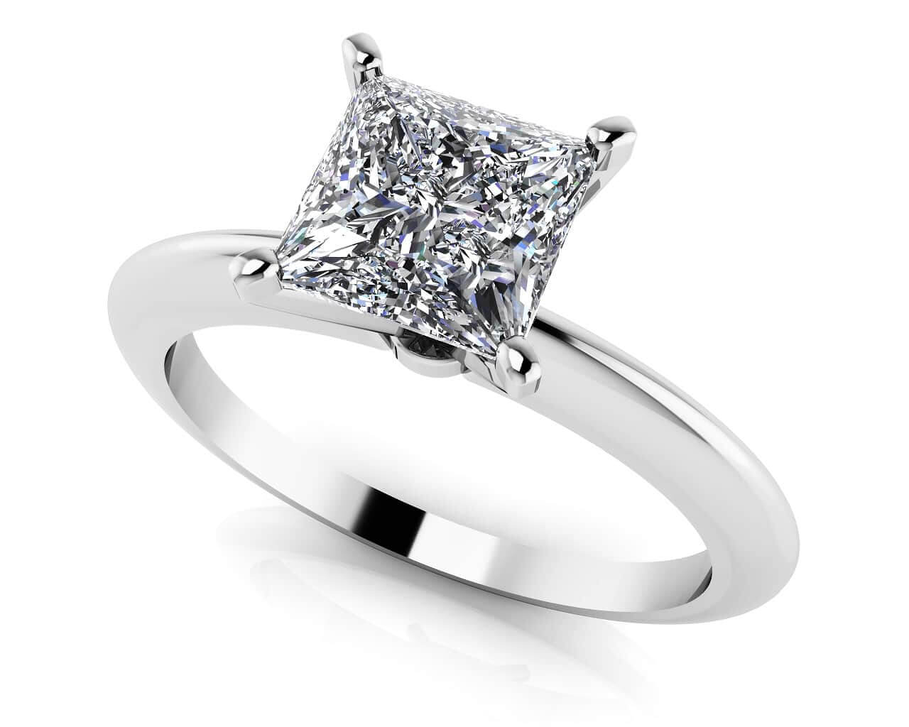 Customize And Buy Solitaire Diamond Engagement Rings
