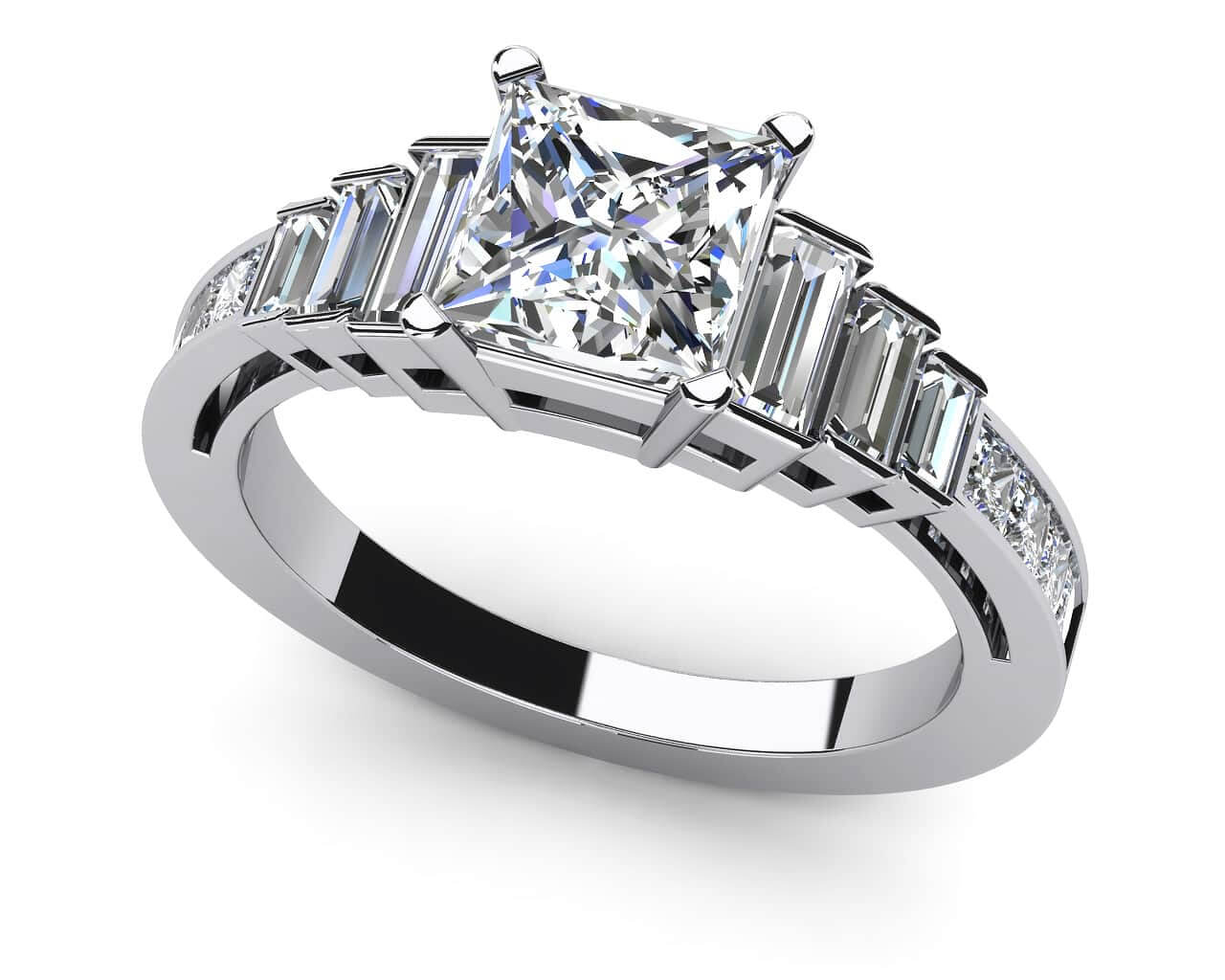 diamond engagement rings wedding rings Red Carpet