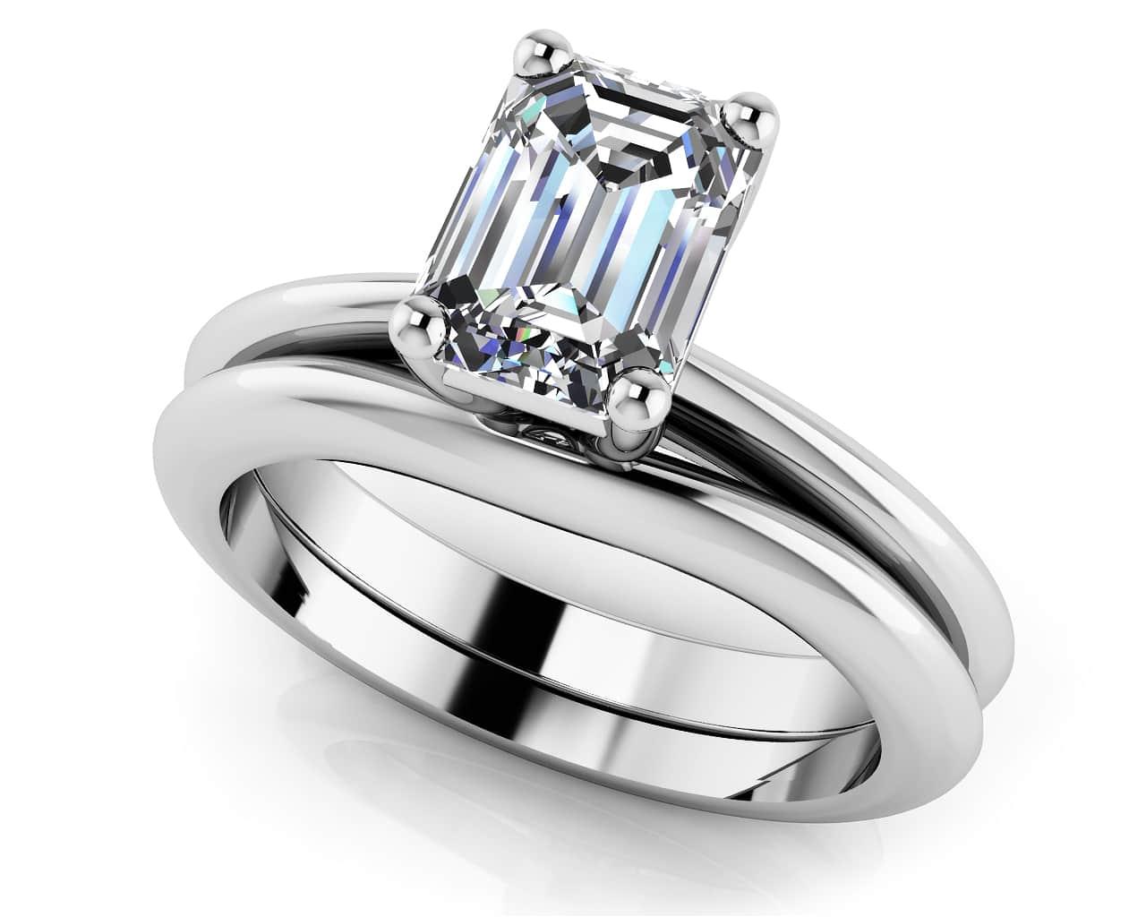 1 55 Heart Irish Celtic Pink Stone Promise Bridal Wedding Ring 14k