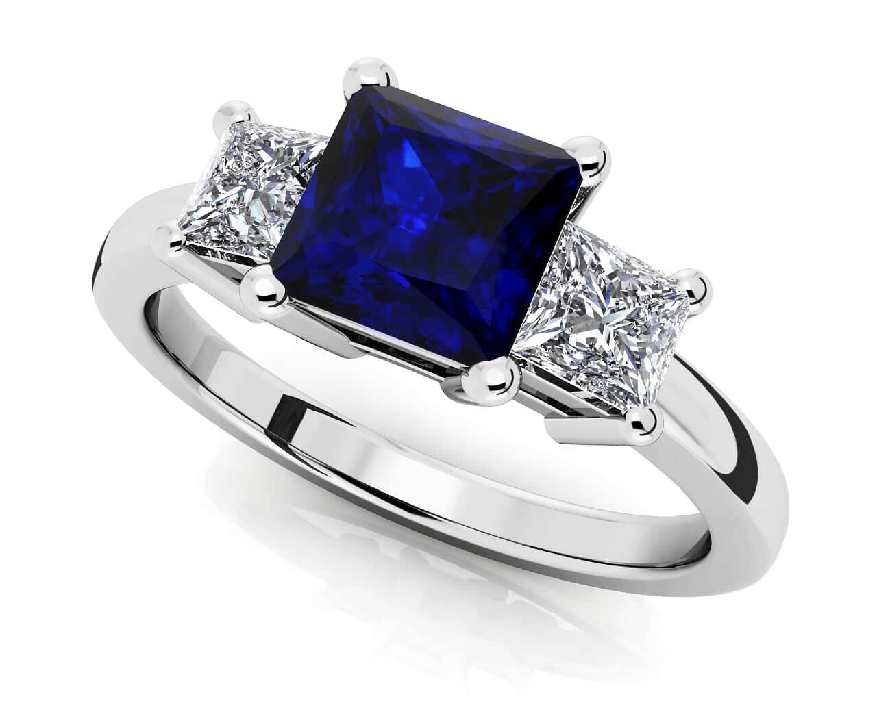 Design Your Own Wedding Rings New Ideas Design Your Own Wedding Ring 3  Stone Princess Diamond