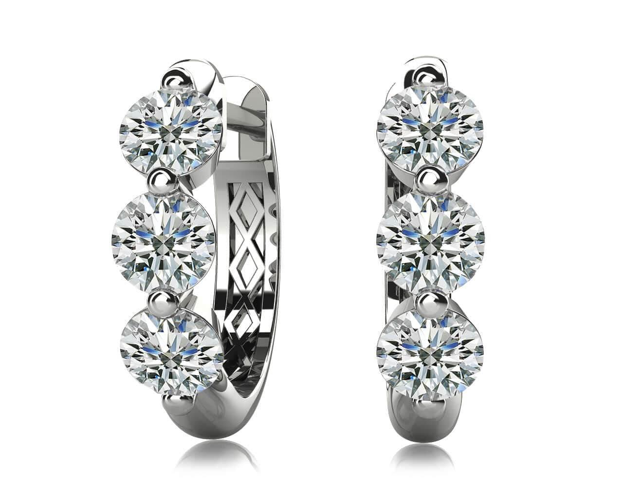 0259894935fd1 Diamond Hoop Earrings For Women