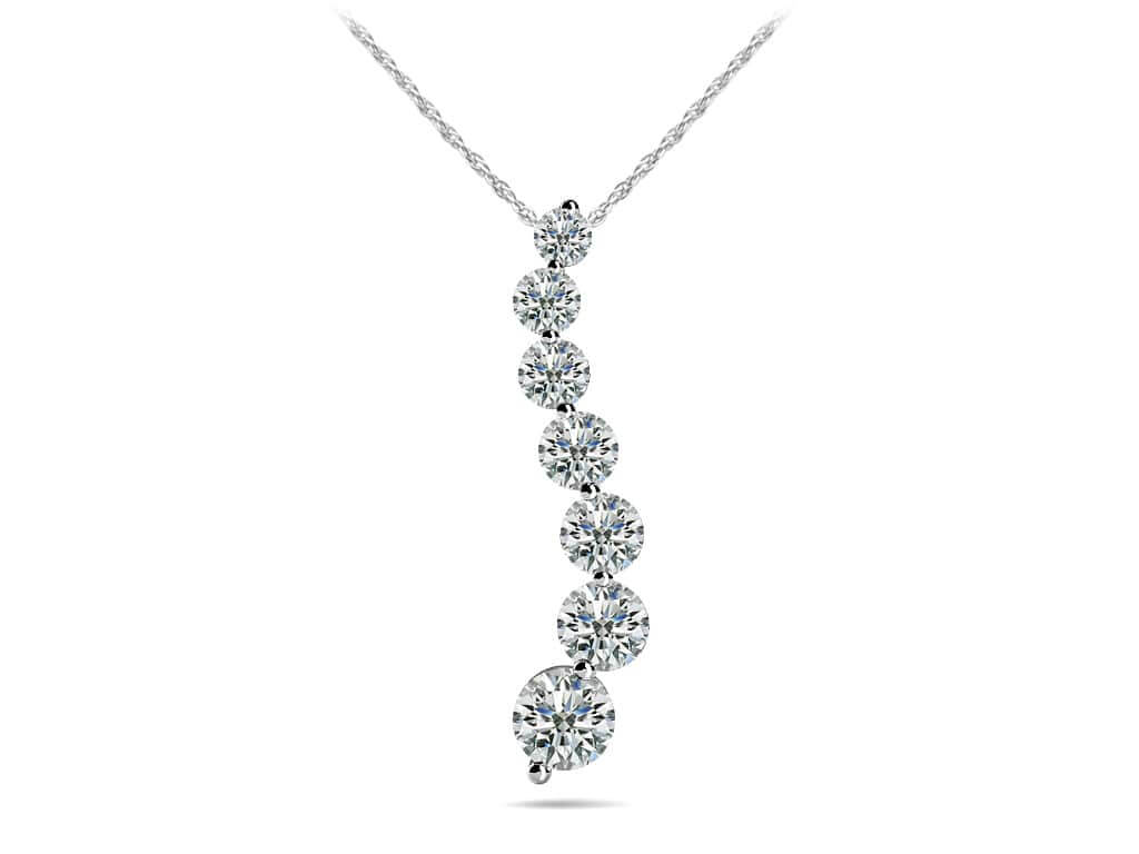 Diamond pendants necklaces for women new classic diamond journey necklace aloadofball Images