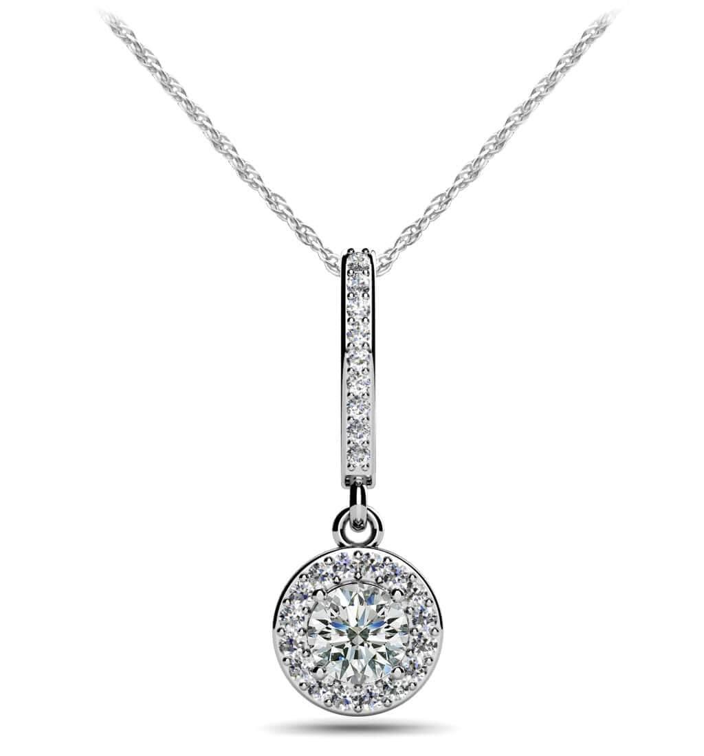 Large selection of diamond pendants diamond necklaces aloadofball Gallery