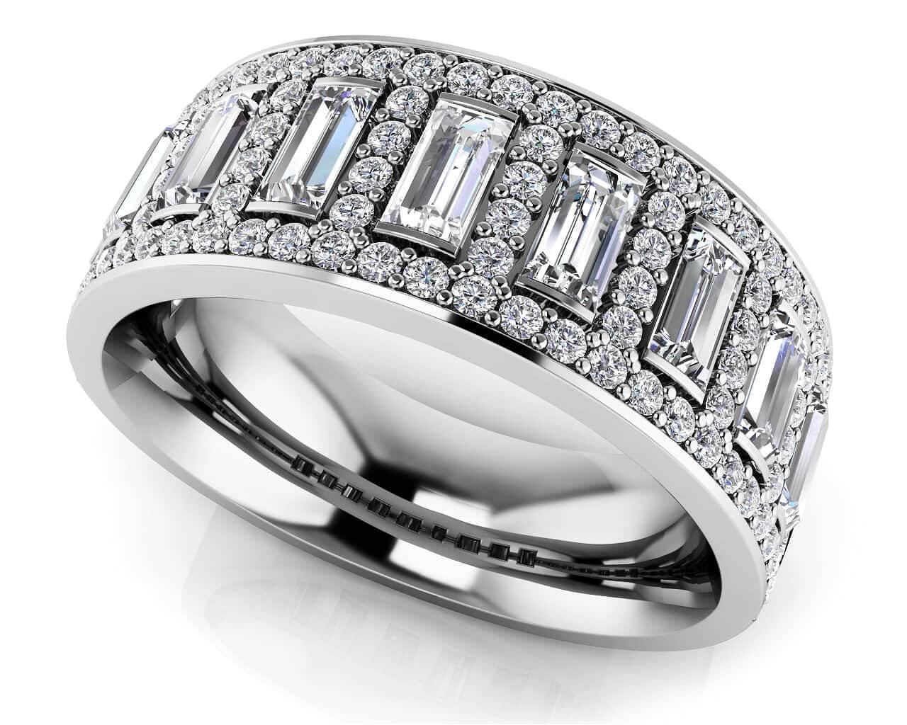 vs from how wedding bands inc rings pave differ diamong diamonds diamond