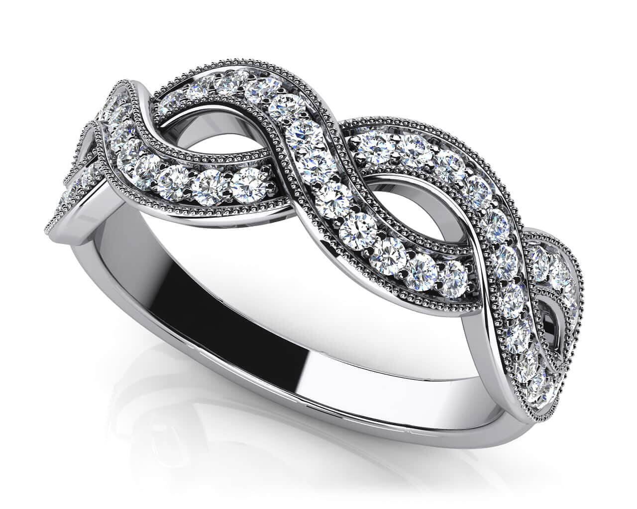 rings anniversary product round jewellery band stone diamond cut carat category ring