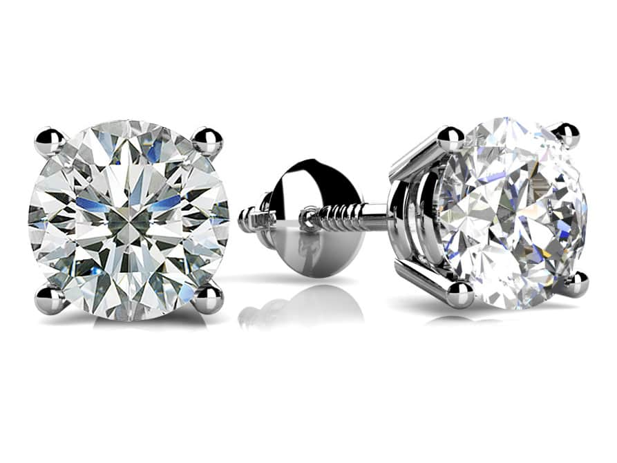 Buy Diamond Stud Earrings Diamond Studs