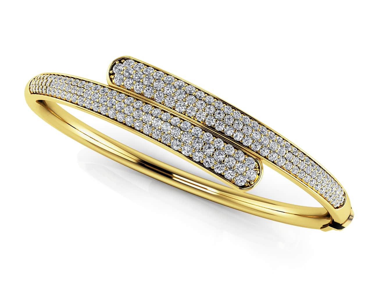 Buy Quality Diamond Bangle Bracelets in Gold or Platinum