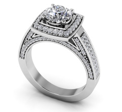 Legacy Diamond Engagement Ring