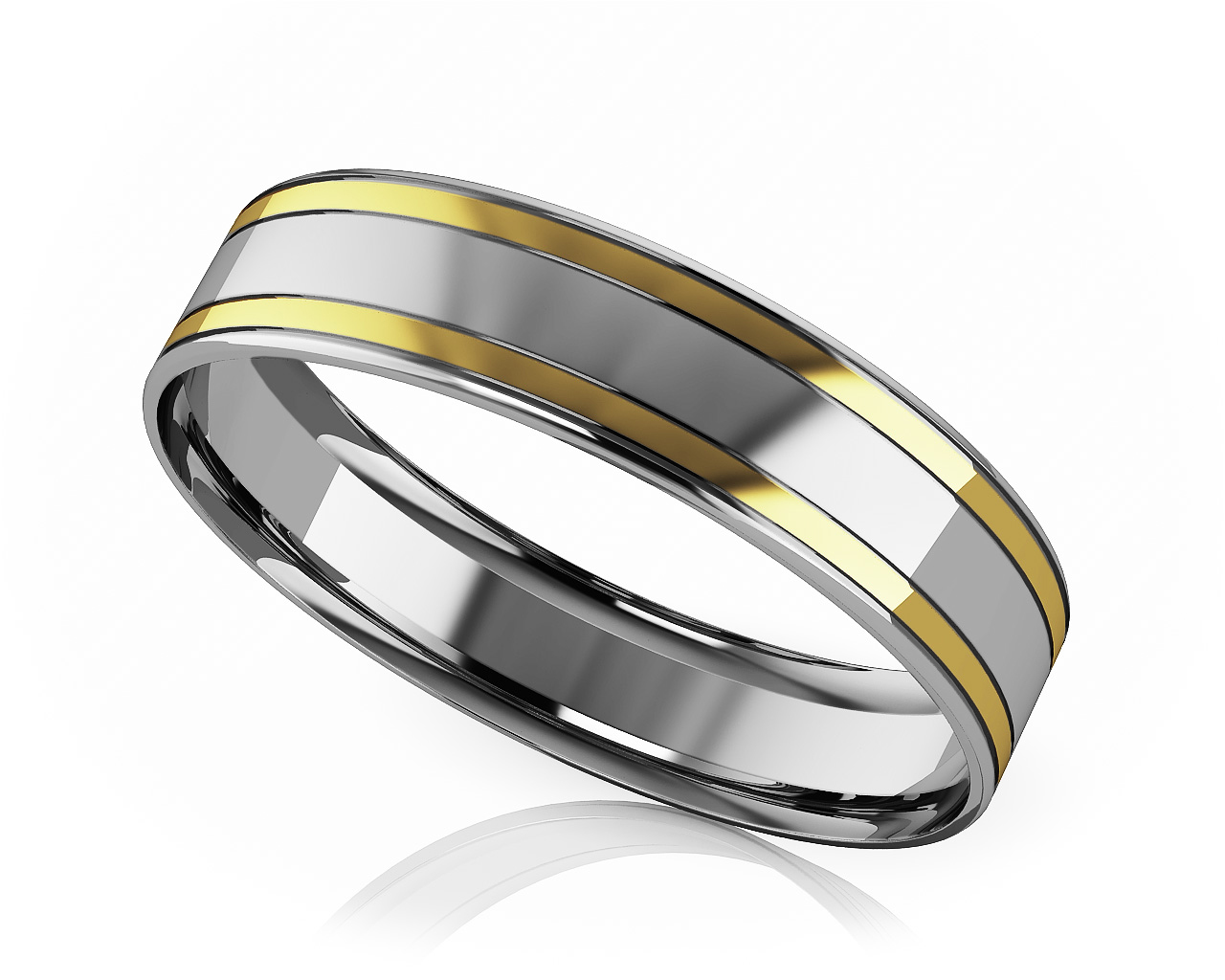 modern design wedding bands for and