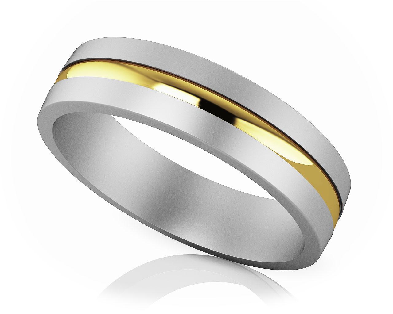 Modern Design Wedding Bands for Men and Women