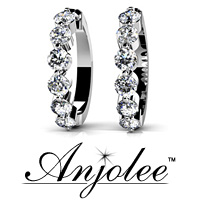 Essential Diamond Hoop Earrings