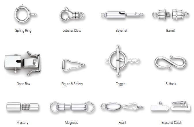 1000+ images about Crimps, clasps and closures on ...