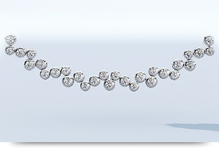 Fashion Diamond Necklaces
