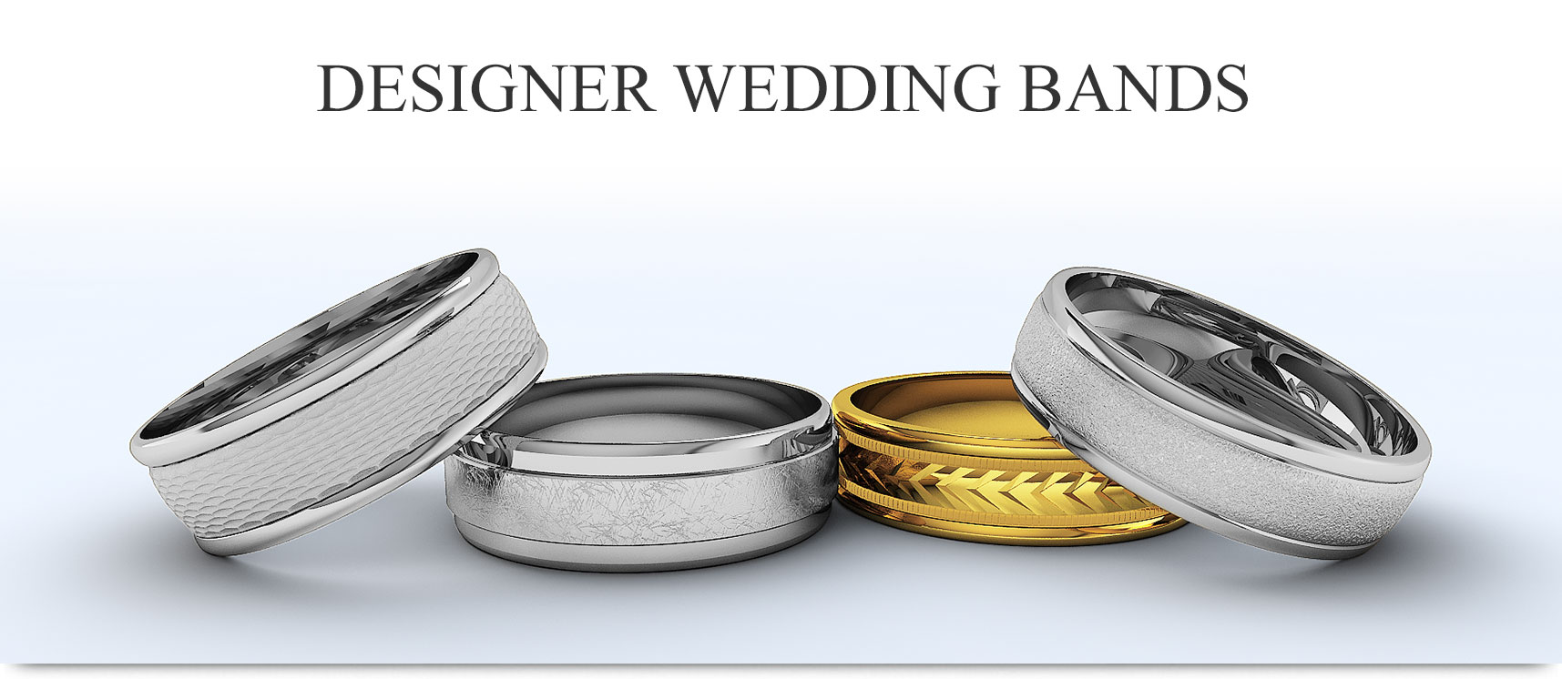 designer wedding bands for men and women