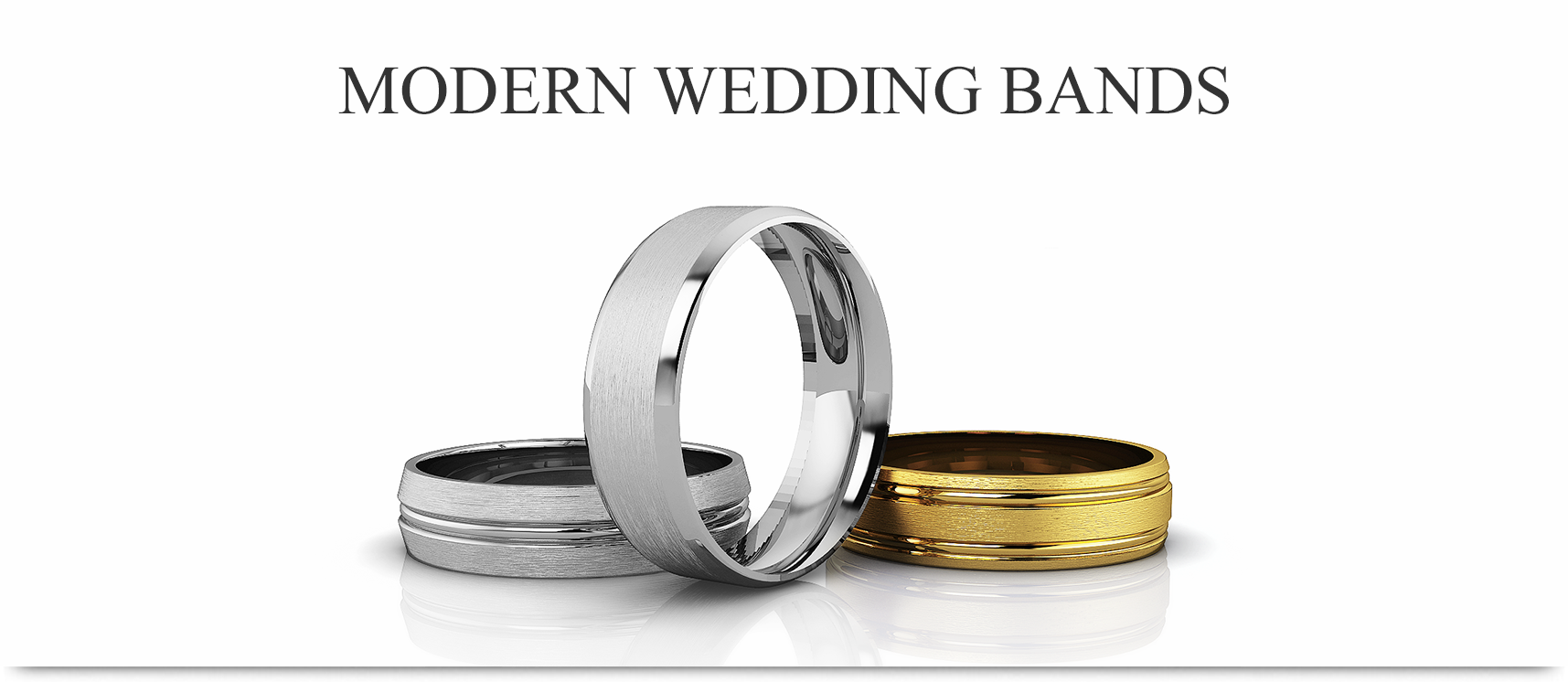 can bands bride gold of illustration stock band d pair wedding groom design one rings hearts be with heart two