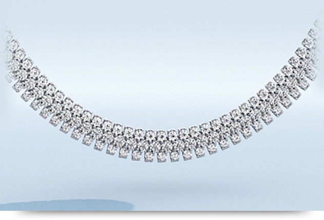 Red Carpet Diamond Necklaces