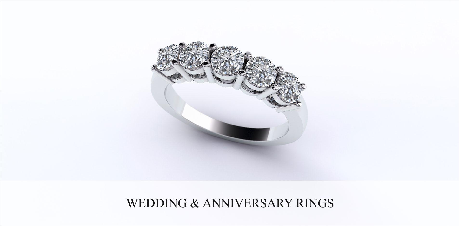 diamond engagement anniversary rings bridal wedding sets - Wedding Anniversary Rings